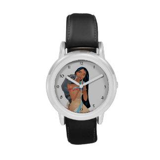 Pocahontas y Meeko Relojes De Pulsera