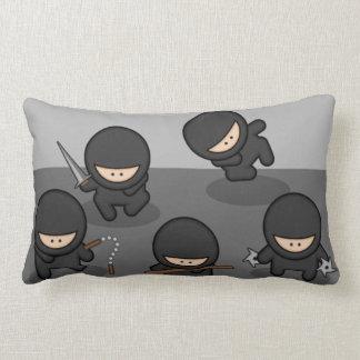 Pocas almohadas del Lumbar de Ninjas