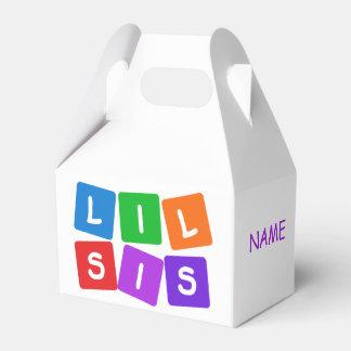 Pocas cajas de encargo del favor del SIS Cajas Para Regalos De Fiestas