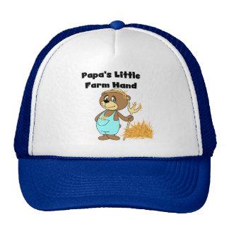 Pocas camisetas y regalos de la mano de la granja gorras