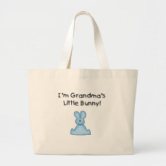 Pocas camisetas y regalos del conejito de la abuel bolsa tela grande