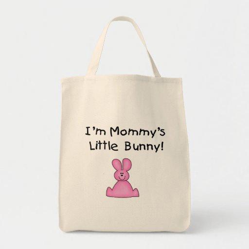Pocas camisetas y regalos del conejito de la mamá  bolsa