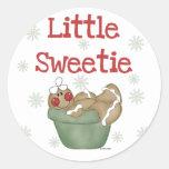 Pocas camisetas y regalos del Sweetie Pegatinas Redondas