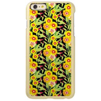 Pocas floraciones del girasol del amarillo