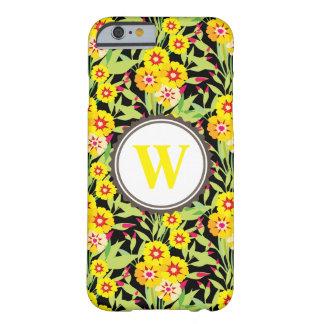 Pocas floraciones del girasol del amarillo funda para iPhone 6 barely there