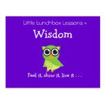 Pocas lecciones de la caja del almuerzo - sabidurí postal