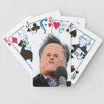 Pocas tarjetas del mitón de la cara barajas