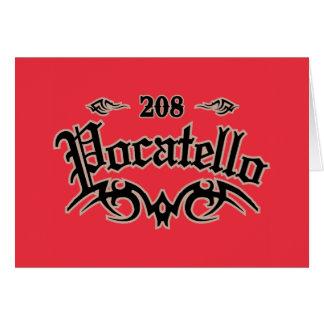 Pocatello 208 card