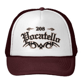 Pocatello 208 trucker hat