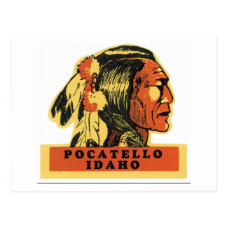 Pocatello, Idaho Postcard