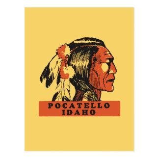 Pocatello Idaho Postcard