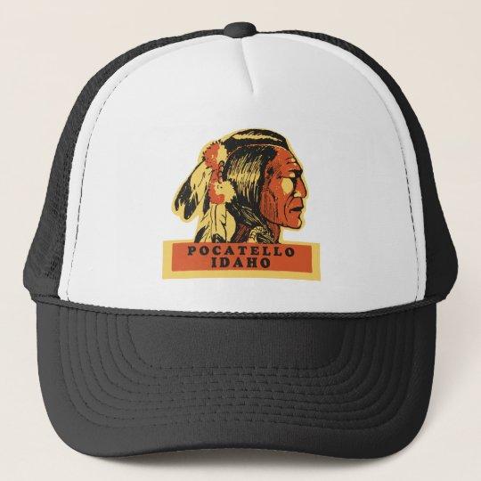 Pocatello Idaho Trucker Hat