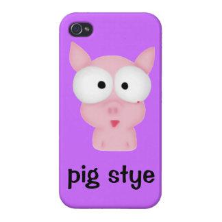 Pocilga de cerdo iPhone 4 carcasa