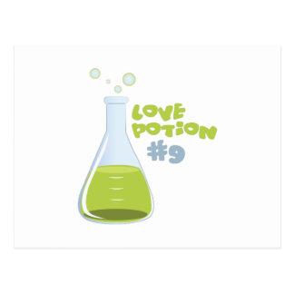 Poción de amor #9 tarjeta postal