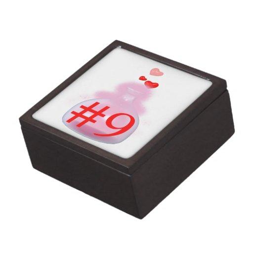 Poción de amor cajas de recuerdo de calidad