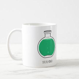 Poción del vigor: +100 taza de café