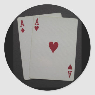 pocket A's Sticker