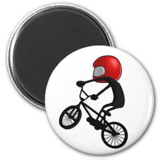Pocket BMX Pose 2 Inch Round Magnet