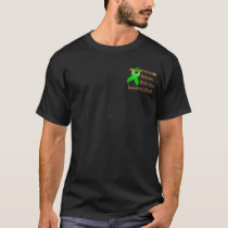 Pocket Brain Injury Awareness Month Dark Shirt