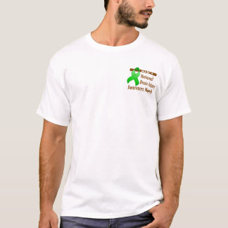 Pocket Brain Injury Awareness Month Light Shirt