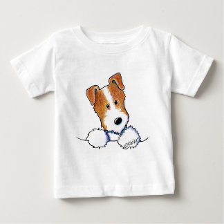Pocket Broken Coat JRT Baby T-Shirt