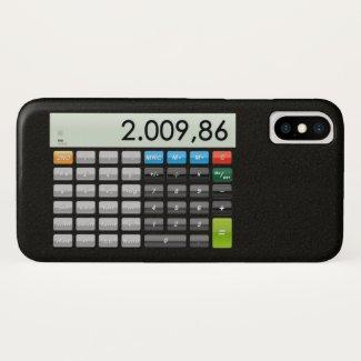 Pocket calculator App iPhone X Case