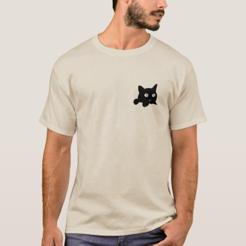 Pocket cat T_Shirt