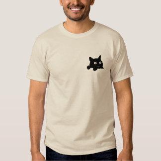 Pocket cat tee shirt