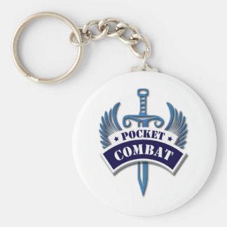 Pocket Combat Basic Round Button Keychain
