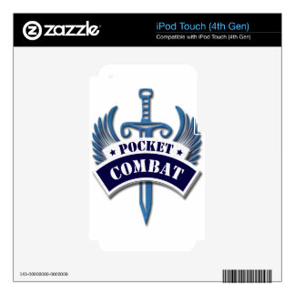 Pocket Combat Decals For iPod Touch 4G
