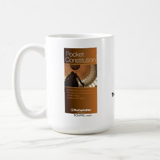 Pocket Constitution mug
