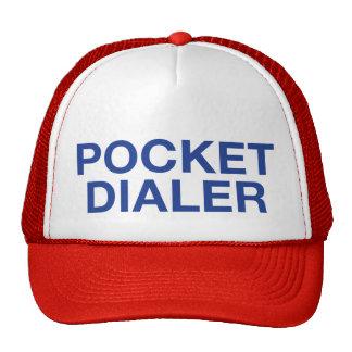 POCKET DIALER fun slogan trucker hat