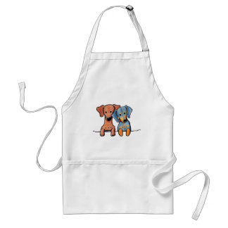 Pocket Doxie Duo Adult Apron