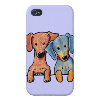 Pocket Doxie Duo iPhone 4/4S Case