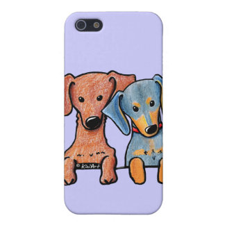 Pocket Doxie Duo iPhone SE/5/5s Cover