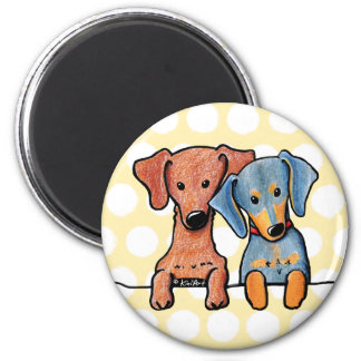 Pocket Doxie Duo Magnet