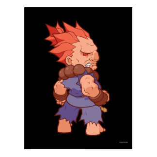 Pocket Fighter Akuma 2 Postcard
