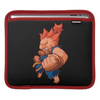 Pocket Fighter Akuma iPad Sleeves