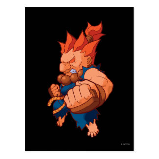 Pocket Fighter Akuma Postcard