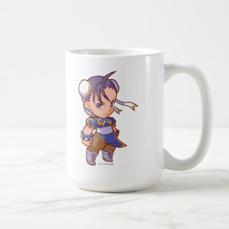 Pocket Fighter Chun-Li 2 Classic White Coffee Mug
