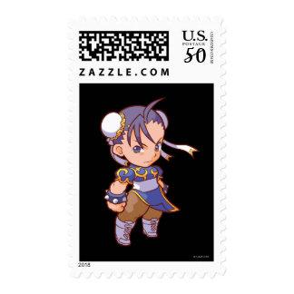 Pocket Fighter Chun-Li 2 Postage