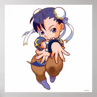 Pocket Fighter Chun-Li Poster