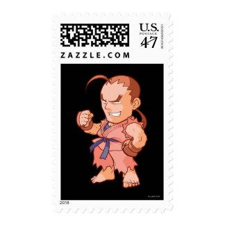 Pocket Fighter Dan Postage