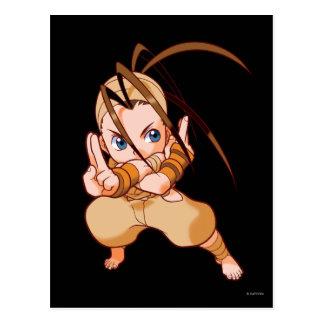 Pocket Fighter Ibuki Postcard