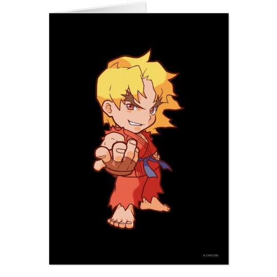 Pocket Fighter Ken 2 Card