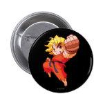 Pocket Fighter Ken 2 Inch Round Button