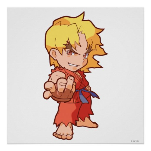 Pocket Fighter Ken 2 Poster