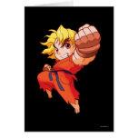 Pocket Fighter Ken Card