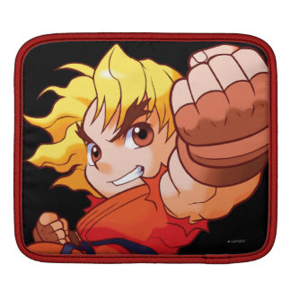 Pocket Fighter Ken Sleeves For iPads