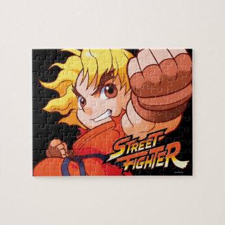 Pocket Fighter Ken Jigsaw Puzzle